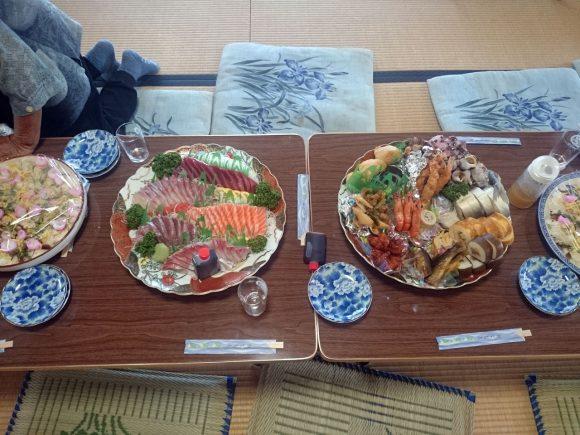 初盆法要お料理